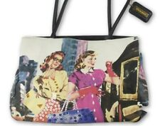 Bueno Embellished Kitschy 50s Women Graphic Organizer Purse Shoulder Bag