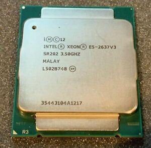 Intel Xeon E5-2637 V3 SR202 3.5GHz Quad-Core CPU Processor