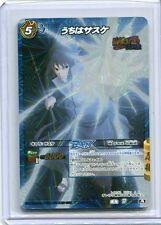NARUTO JAPANESE card carte Miracle Battle carddass B 77/77 Sasuke