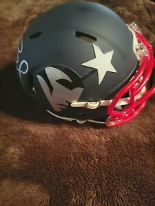 Tom Brady Signed Mini AMP Helmet w/COA