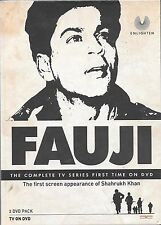 FAUJI - SHAHRUKH KHAN - NEW HINDI TV SERIAL - 2 DVDs EDITION