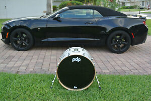"""PDP by DW 22"""" CONCEPT ALL MAPLE BASS DRUM in PEARLESCENT WHITE for YOUR SET S114"""