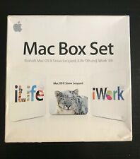 Apple Mac Box Set OS X 10.6 Snow Leopard, iLife '09 und iWork '09,(MC209D/A),OVP