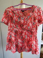 BODEN COTTON TOP SIZE 16 PERFECT
