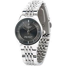 Uhren Damen: Damen-Armbanduhr aus Edelstahl, wasserdicht bis 3 atm
