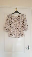 Size 12 Monsoon Floral Blouse