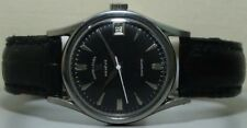 Vintage Favre Leuba Daymatic Swiss Made Wrist Watch S352 Old Used Antique