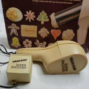 Vintage Wear Ever Super Shooter REPLACEMENT Power Trigger Motor Cookie Press GUC