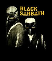 BLACK SABBATH cd cvr NEVER SAY DIE Official Black SHIRT LRG New ozzy osbourne