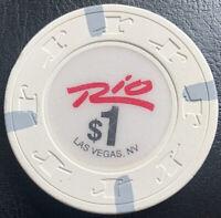 Rio Las Vegas $1 Casino Chip - Las Vegas Nevada - Paulson H&C