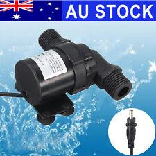 AU Solar 12V 24V Submersible Brushless Hot Heater Water Circulation Pump 700L/H