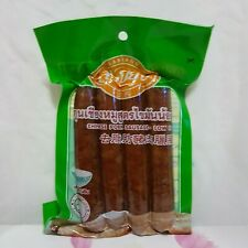 250g.Thai Pork Sausage-Chinese Style Kun-Chieng Easy Cooking Snack Free Shipping