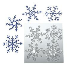 Snowflake Cutting Dies Stencil for DIY Scrapbooking Photo Album Paper Card Craft