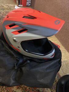 Bell Sanction Adult Full Face Bike Helmet Medium Bmx Bike  Bicycle Crimson Matte