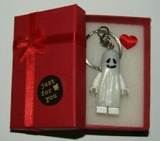 Ghost Keychain & Lovely Present Box - fluorescent