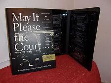 May It Please the Court: May It Please the Court... : Transcripts of 23 Live Rec