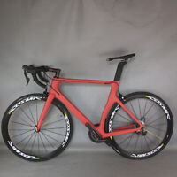 NEW Aero Road bike carbon frame bicycle R7000 Groupset complete bike PT032 TT-X2