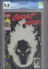 Ghost Rider #v2 #15 CGC 9.8 1991 Marvel  Black Glow-in-Dark Cover: New Frame