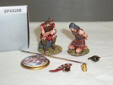 Thomas Gunn SPA028B Spartans Prisoner With Icarus Shield Metal Toy Soldier Ser