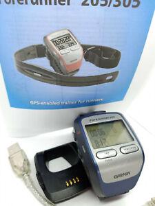 Garmin Forerunner 205 Watch Wrist Worn GPS Personal Training Multi Sport Device