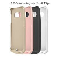 External Battery Charger Power Bank Pack Case Cover for Galaxy S7 edge 5200mAh