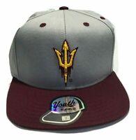 NCAA Arizona State Sundevils ASU Baseball Hat Cap, Kids Boys, Flat Brim