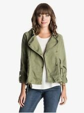 Roxy Short Khaki Jacket - Size XS - Excellent Condition
