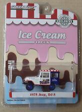 Greenlight 1:64 - 1975 Jeep DJ-5 Ice Cream Van Truck - Hobby Exclusive - NEW