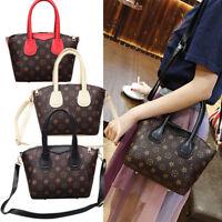 Women Shoulder Bag Leather Handbag Messenger Crossbody Satchel Tote Purse Lot