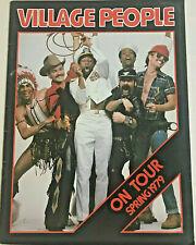 Village People Y.M.C.A. 1979 Tour Official Souvenir Program Free Fast Shipping