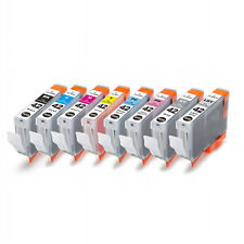 8 Color Ink Cartridge for Canon PIXMA Pro-100 CLI-42 CLI-42BK C M Y PC PM LGY GY