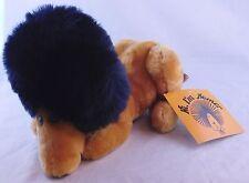 R Dakin Homer the Lion w/ Afro/Goatee Plush Stuffed Animal w/ Tag Vintage 1979