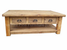 Less than 60cm Height Pine Coffee Tables
