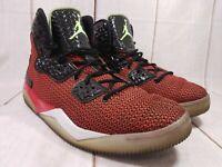 Men's Nike Air Jordan Spike Lee 40 Sho-Nuff/Ya-Dig Red Black Gray Size 13 2015