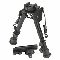 "CCOP USA 7.7"" Tactical Rifle Bipod Adjustable Spring Return with Adapter BP-79S"