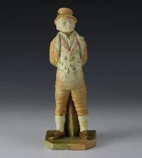 1895 English Royal Worcester Irish Man #31 Figurine. Countries Around The World
