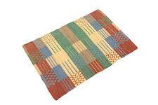 Flato Cotton Multi-Color Floor Mat Rug, 20x30 inch