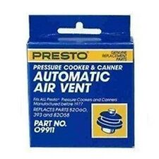 NEW PRESTO 09911 PRESSURE CANNER COOKER REPLACEMENT AUTOMATIC AIR VENT PLUG