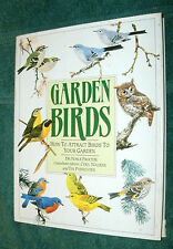GARDEN BIRDS - HOW TO ATTRACT BIRDS TO YOUR GARDEN by DR. N. PROCTOR 1989 HC/DJ