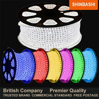 PREMIER LED 240v RGB SMD 5050 Ribbon Strips Rope Lights White Red Blue Green 5m