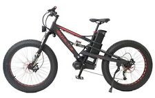 48V 1000W Fat Tire Super Mustang 8Fun Mid-drive Electric Bicycle 48V26Ah Battery