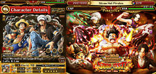 One Piece Treasure Cruise, Optc, Luffy Law + Other Legends, 370+ Gems, Fresh