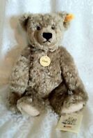 Steiff Golden Soft Stuffed Classic Teddy, Jointed, Bean Filled Belly EAN: 028755