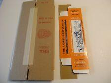 Lionel 773 Corrugated Hudson Repro  Box w/ insert (1964-1966) & 773W Tender Box