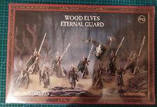 Games workshop Wood Elves Warhammer Battle Eternal Guard
