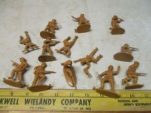 VTG Matchbox 1/32 Plastic Army Men Figures Soldiers Afrika Corps 54mm Toys