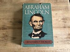 Abraham Lincoln- A Biography by Benjamin P. Thomas ( 1952, Hardcover)