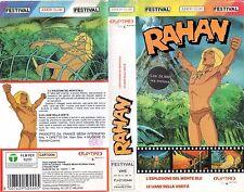 RAHAN 1 (1989)   VHS Playtime   2 Episodi - introvabile