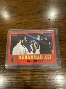 2021 Topps MUHAMMAD ALI - The People's Champ Card #39 Red Parallel 3/10