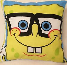 Spongebob Squarepants Handmade Cushion Cover/Pillow Case  12 inch x 12 inch